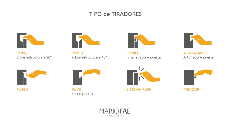 Mario Fae Equipamientos La Plata # Tiradores Para Muebles Hafele